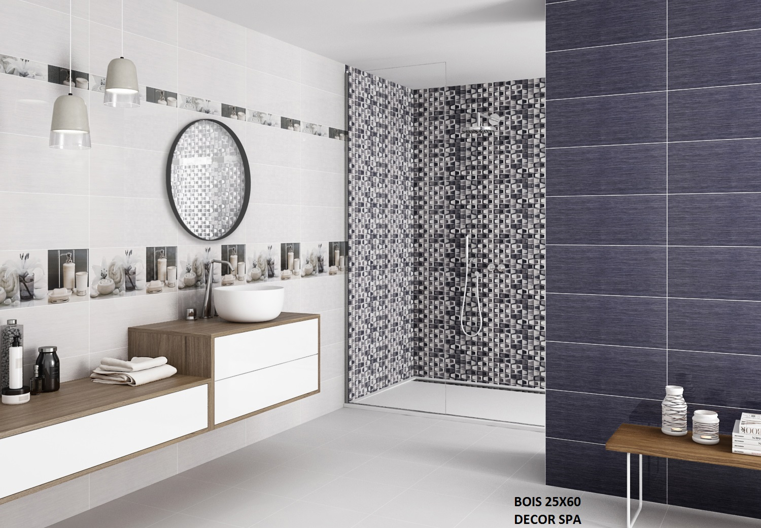 BOIS 25X60 DECOR SPA